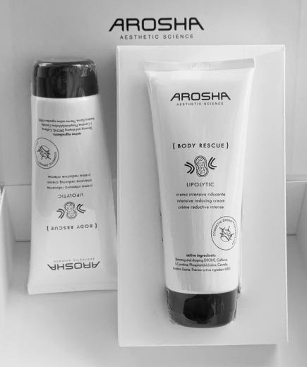 Arosha Body Rescue Lipolytic - krem do ciała - 200ml