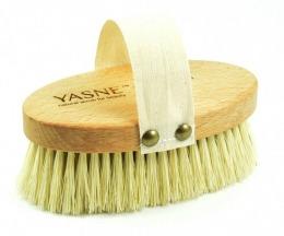 Szczotka do masażu na sucho tampico - YASNE Long