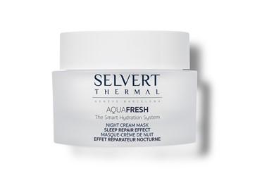 Selvert Thermal Aquafresh Night Cream Mask - kremowa maska na noc - 50ml