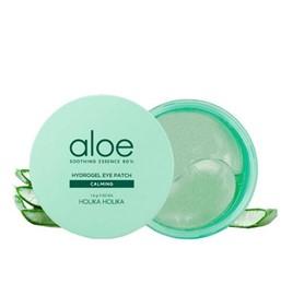 Holika Holika Aloe Soothing Essence 80% Hydrogel Eye Patch - płatki pod oczy - 60 sztuk