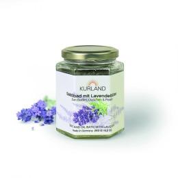 Kurland - mieszanka solno-olejowa z kwiatem lawendy - 260g