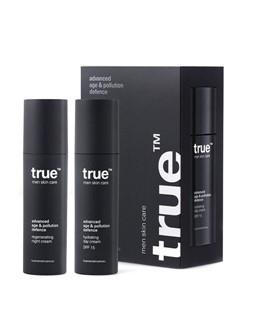 True - Day & Night Complete Skin Care Set - krem dla mężczyzn - 2 x 50ml