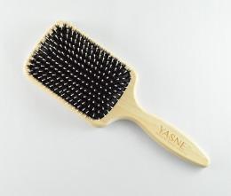 Duża szczotka z włosiem dzika i szpilkami – YASNE DS