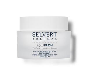 Selvert Thermal Aquafresh 48H Hydration Rich Cream - Krem do twarzy - 50ml