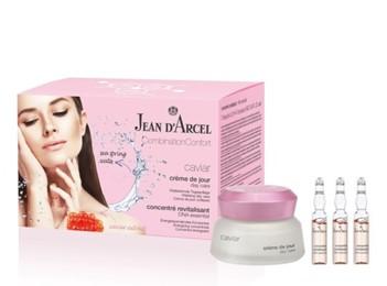 Jean d'Arcel Caviar Combination Confort - krem 50ml + ampułki 7x2ml